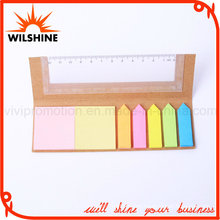 Paper Cover Sticky Notepad with Ruler for Promotion (SP318)