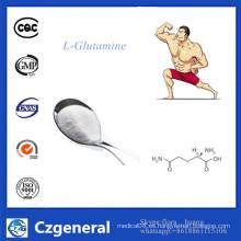 Suplemento de la nutrición de la categoría alimenticia de la fuente de la fábrica L-Glutamine Powder