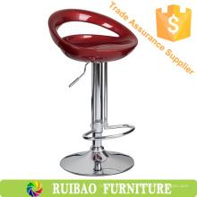 Barra ajustable moderna de la silla del taburete de la barra del ABS ajustable con taburete de barra plástico