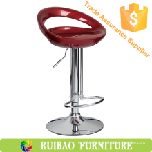Modern Adjustable ABS Bar Stool Chair Bar With Plastic Bar Stool