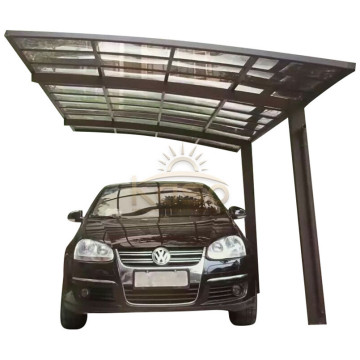 Couverture de tente cantilever Car ShadePort Bois Carport Canopy