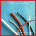 Tube de rétrécissement de la chaleur en caoutchouc de silicone souple de haute qualité
