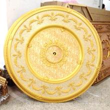PS runde künstlerische Medaillon für die Türkei Markt Home Decor Dl-1160-8