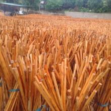 La escoba natural de la venta caliente maneja la escoba de madera de la fábrica directa de la venta entera maneja el palillo del trapeador del pvc