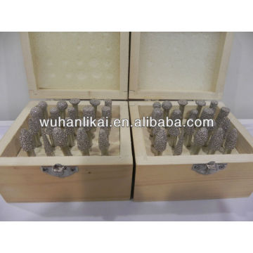 Вакуумные Паяные алмазные биты палец