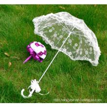Souvenir elegant lace decoration bridal party wedding lace umbrella