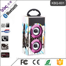 BBQ KBQ-601 Professional 600mAh build-in battery portable audio Max Speaker System for computer
