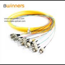Cable flexible de cinta de FCAPC de 12 núcleos monomodo