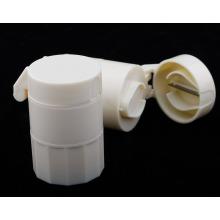 Boîte à pilules en plastique avec coupeur pour promotion Plb23