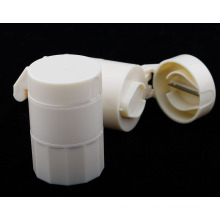 Plastic Pill Box with Cutter for Promotion Plb23