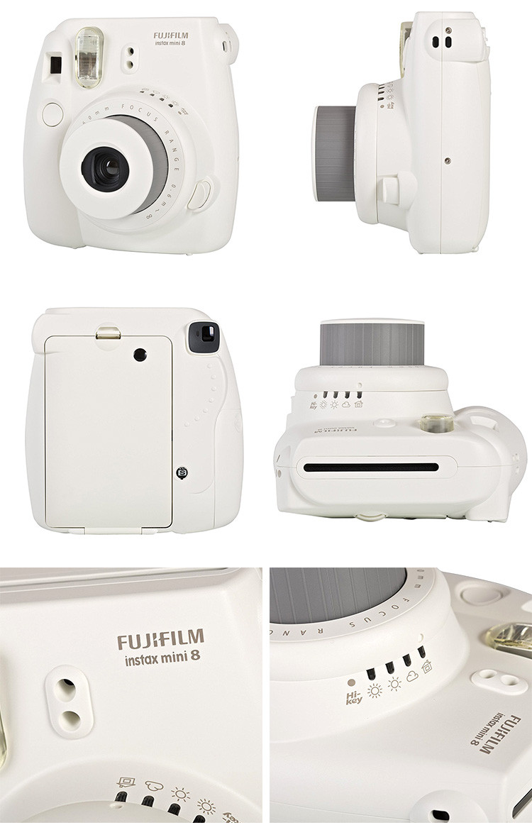 Instax Mini 8 White Detail
