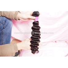 Cheap Price 7a Grade Indian Human Virgin Hair Deep Wave Raw Unprocessed Remy Human Hair Extensions/hair Weave
