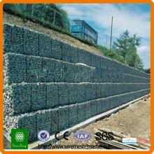 Габионы каменный забор