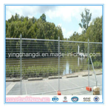 Supply Top-Selling & Best Quality High Standard Powder Coated Temporary Fence (factory price&fas delivery)