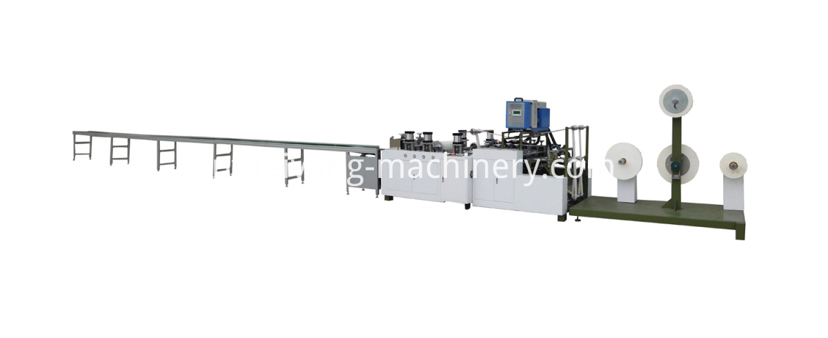 flat paper handle making machine