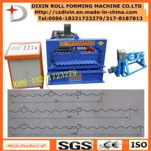 Dx Profil gewölbte Dachherstellungsmaschine