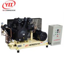 Fabricante de China 4.5kw precio barato mini silenciador de 3 cilindros de tipo industrial resistente pistón compresor de aire