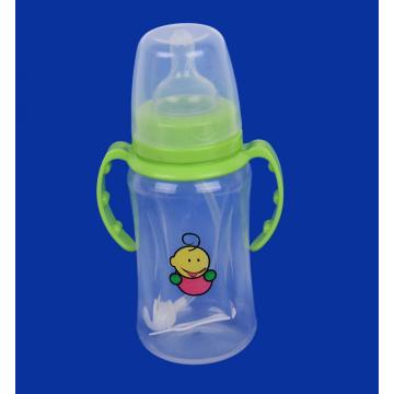 Transparent Cover PP Feeding-Bottle with Vent System 320ML