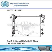 Radiador Para CHRYSLER DUSTER 93-94 OEM: 4401961/4401962 Fabricante Venta caliente