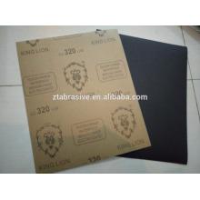 König Lion Brand Waterproof Siliciumcarbid Schleifpapier