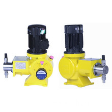 Mechanical plunger metering pump