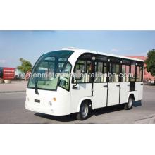 nuevo carro eléctrico barato del carro de visita turístico de excursión del carro de autobús eléctrico con las puertas para la venta