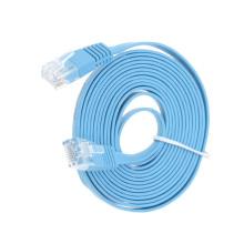La Chine fournit un câble plat 32AWG cat6 haute qualité