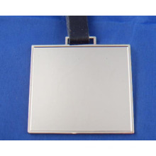 Blank Square Bag Tag - World Wide Versand / Aufkleber / Bulk Sale