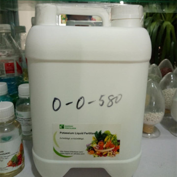 Liquid Potassium fertilizer-high potassium content.