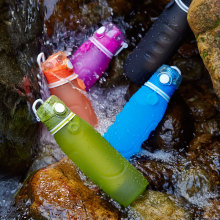1L+powerfull+filter+silicone+water+bottle