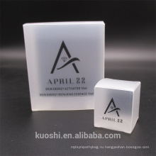 Четкие упаковочные коробки из ПВХ прозрачная пластиковая Коробка дисплея пакет квадратная витрина
