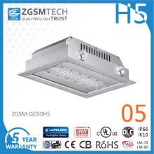 2016 New 50W LED Canopy Lights with Super Bright 150lm/W LED