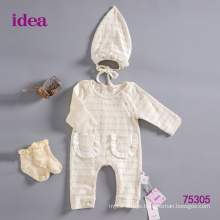 75305 100%Cotton Baby Clothes Romper Set