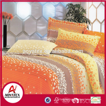 Chinese wholesale factory direct bedding sets,4pcs dyed bedding sheet