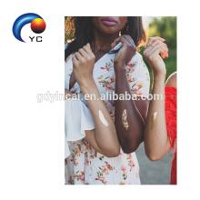 Venta caliente de etiqueta engomada atractiva del tatuaje de la novia de la novia con diseño único y alta calidad