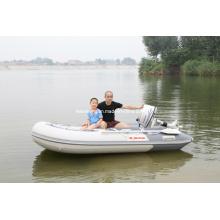 Barco inflável a vela 3m com motores de popa 4 tempos 5HP
