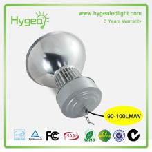 Produits promotionnels Atelier d'entrepôt Led High Bay Light 50W 3 ans de garantie