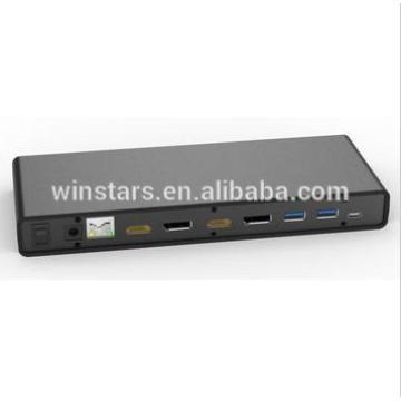 USB 3.0 тип C 5K универсальная док-станция для ноутбука / ПК, поддерживает все сертифицированные HDMI / DP CE / FCC
