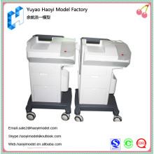Preço de fábrica cnc resistente plástico trash bin protótipo rápido