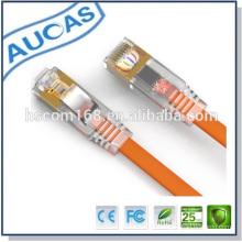 Cable óptico UTP Cat6 Patch con conector de cable