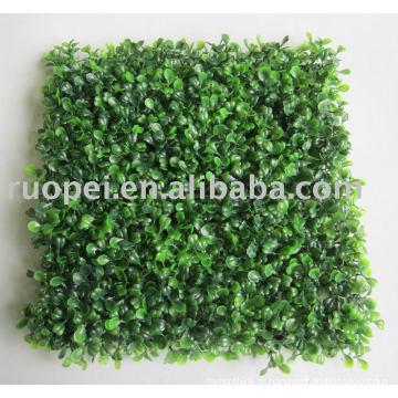 Tapis d'herbe artificielle, haie en plastique