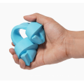 Juguete para mascotas de hueso de caucho natural para limpieza de dientes no tóxico