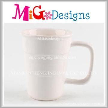 Фабрика прямые творческие керамические кофейные кружки с ручкой