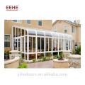 Modern design sunroom kit glass house outside
