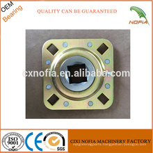 Square hole bearing bore bearing agricultural machinery bearing