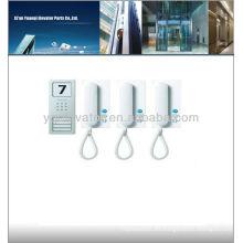 Ascensor intercomunicador, sistema de intercomunicación wifi, video portero