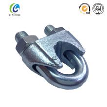 Metal pesado Din741 cable de cable de clip