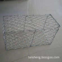 Direct Sale PVC-coated/Galvanized Rock Gabion Basket Mesh, ISO 9001, Professional Factory