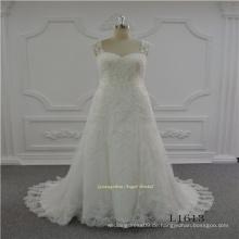 Strap Aline neues Design Hochzeit Brautkleid