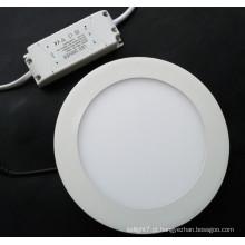 Luz redonda do diodo emissor de luz Luz do diodo emissor de luz do painel do diodo emissor de luz 3/4/6/9/12/15/18 / 24W
